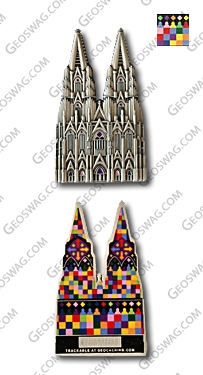 cologne cathedral geocoin