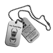 Dog Tag Travel Bug