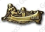 Canoe Pin Badge
