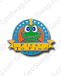 First To Find Signal The Frog Pin Badge