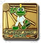Signal The Frog Saturday Night Cacher Pin Badge